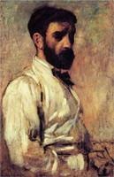Портрет Леона Бонната (Э. Дега, 1863 г.)