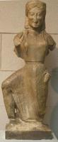 Бегущая Ника. Архерм. Около 550 г. до н.э. Национальный музей, Афины