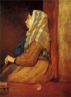 Римская нищенка (Э. Дега, 1857 г.)