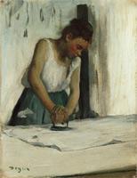 Прачка (Э. Дега, 1873 г.)