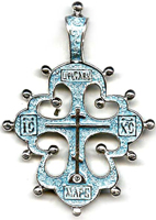 Эмаль. Крест Византии