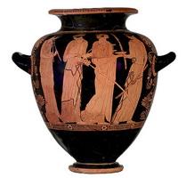 Греческая ваза (ок. 450 г. до н.э.)