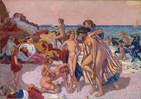 Рождество. Вакх и Ариадна (Дени Морис, 1907 г.)