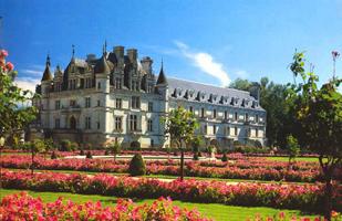 Регулярный парк замка Шенонсо