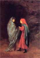 Данте и Вергилий у входа в ад (Э. Дега)