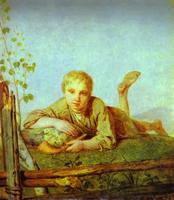 Пастушок с дудкой (А.Г. Венецианов)