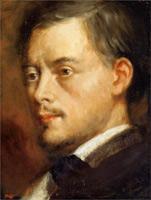 Голова мужчины (Э. Дега, ок. 1864 г.)