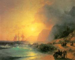 На острове Крит. И. Айвазовский