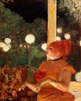 Концерт-кафе: Ария собаки (Э. Дега, 1875-1878 гг.)
