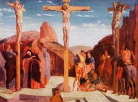 Распятие (Э. Дега, 1861 г.)