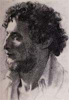 Портрет итальянца (Э. Дега, 1856 г.)