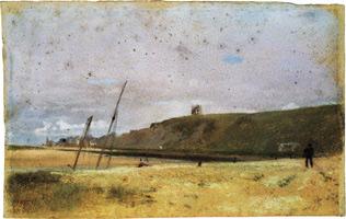 Утесы на Краю Моря (Э. Дега, 1869 г.)