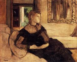 Мадам Теодор Гобиллар (Э. Дега, 1869 г.)