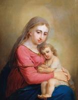 Богоматерь с младенцем (В.Л. Боровиковский)