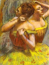 Две танцовщицы (Э. Дега)