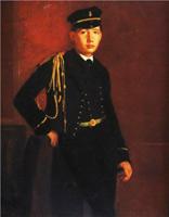 Ахилл Дега в форме морского кадета (Э. Дега)