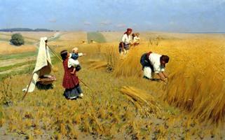 Жатва на Украине. Пимоненко Н.К. 1896 г.