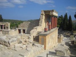 Кносский дворец-лабиринт царя Миноса
