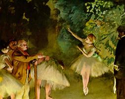Балетная репетиция (Э. Дега, ок. 1875 г.)