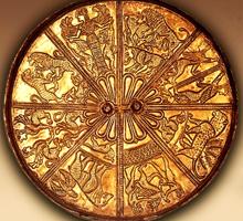Серебряное зеркало. Келермесские курганы. VII в. до н.э.