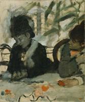 В кафе (Э. Дега, 1875-1877 гг.)