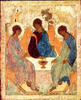 Образ Св. Троицы Андрея Рублева