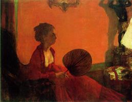 Мадам Камю (Э. Дега, 1869-1870 гг.)