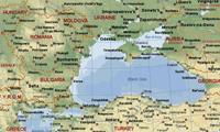 Карта Черноморского региона