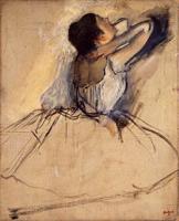 Танцовщица (Э. Дега, ок. 1874 г.)