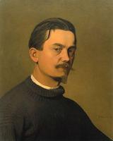 Феликс Валлоттон (Автопортрет, 1897 г.)